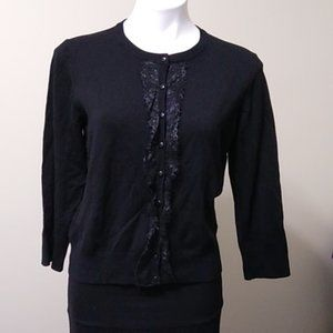 Spense black long sleeve cardigan size XL BNWT